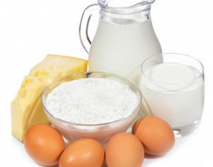 Food List for Blood Type A – Dairy & Eggs